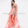 robe de soirée sexy courte longueur robe de soirée sans manches sans bretelles