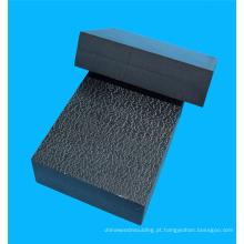 Folha composta de ABS e PVC