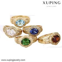 12962-Xuping imitación moda joyería mujer amor 18k anillo de oro