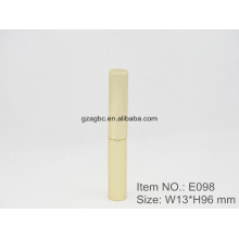 Slender & модным алюминиевая ручка-образный помады трубка E098, Кубок Размер 8,5 мм, цвета