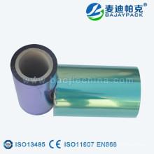 Película laminada médica para la bolsa de embalaje