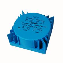 PTC series 3.2~50VA double 110V 115V 120V to 12V 24V toroidal audio transformer Circuit Board Welding mount