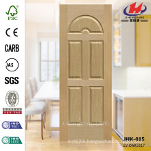 JHK-015 8mm Depth Decorative Internal Moulded EV ASH Veneer Laminate Door Skin