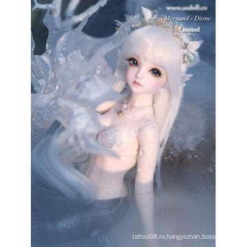 Кукла Elegance Mermaid-Dione Шарнирная кукла 45см