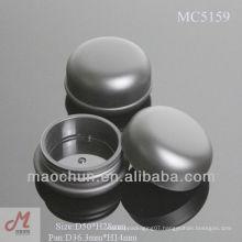 MC5159 Round screw up lid blusher powder pot