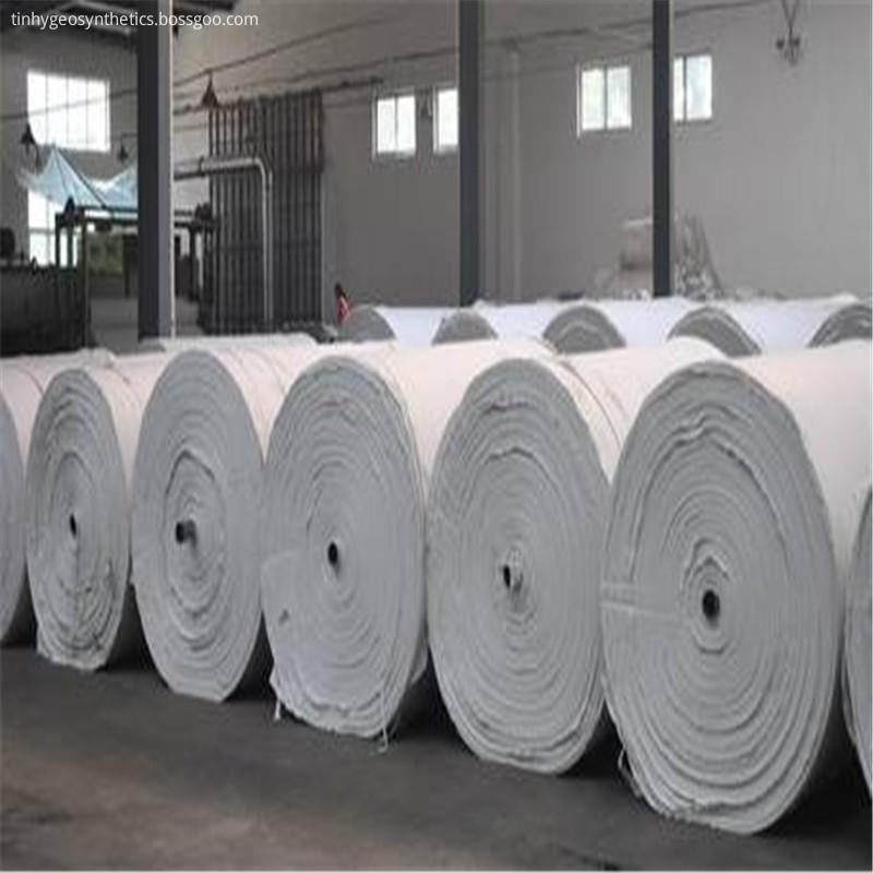 Long Fiber Bentonite Geotextile On Roll