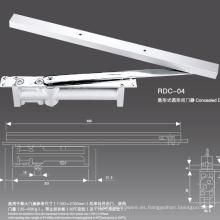 Los proveedores de Door Closer suministran cierrapuertas de aluminio tipo Conceald con CE