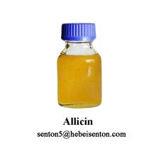 Alicina líquida ligeramente amarilla