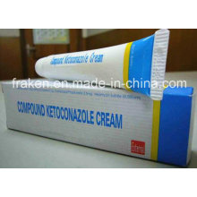 GMP Certified Compound Ketoconazole Cream