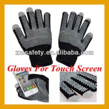 Guantes para pantalla táctil / guantes de mensajes de texto / guantes táctiles inteligentes