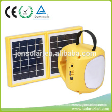 small 9 LED solar camping lantern solar lantern with mobile phone charger