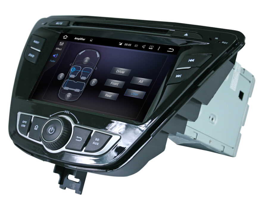 Car Multimedia GPS Player For Hyundai Elantra