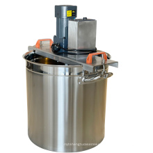 Small commercial full-automatic food stirring and stir-frying machine