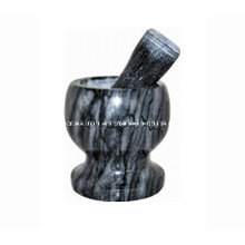 Mini Stone Mortars and Pestles Size 11X10cm