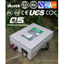 12V80AH Baterias de lítio industriais Lithium LiFePO4 Li (NiCoMn) O2 Polymer Lithium-Ion recarregável ou personalizado