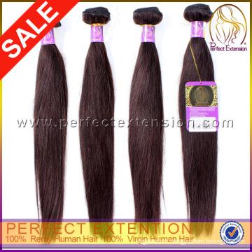 Haute qualité à bas prix vague droite 100 % brésilien cheveux vierges