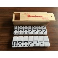 D6  Family Game Domino Set With Wooden Box