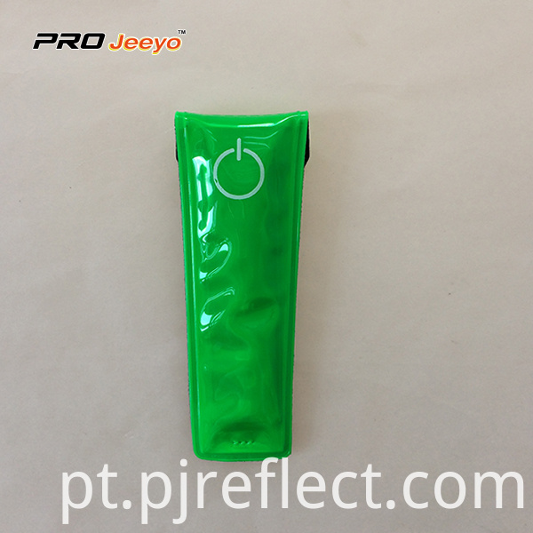 Reflective Warning Pvc Green Magnetic Clipcj Ccj004