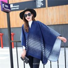 Леди мода Хаундстут шаблон зима акриловые трикотажные большие шали (YKY4513)
