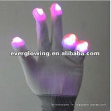 leuchtende Partyhandschuhe