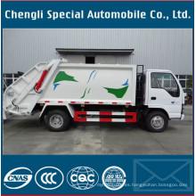 Camión de basura compactador de 5000 litros 4X2 Isuzu