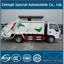 5000litres 4X2 Isuzu compacteur camion à ordures