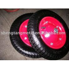 roda de borracha inflável 3.50-7