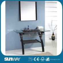 2014 Ханчжоу Современный дизайн Зеркальный закаленный стеклянный бассейн