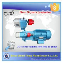 Bomba diesel 2CY Gear con bomba de gasolina con impulsor de cobre para la venta