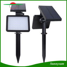 48 LED impermeable solar Powered luces de seguridad Iluminación al aire libre Solar pared lámpara jardín luz
