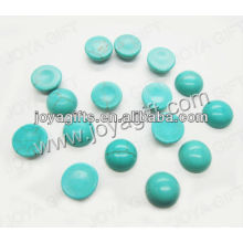 FA0032/Turquoise round shape cabochon/ring surface/olive shape/ring accessories/8*3.5MM