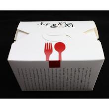 Boa qualidade caixa de macarrão de papel