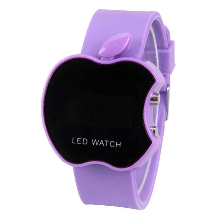 New Style Child Kids Silicone Jelly LED Watches