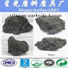 Carburo de silicio negro del grado metalúrgico de la buena calidad para el metal para el cobre de fábrica directa