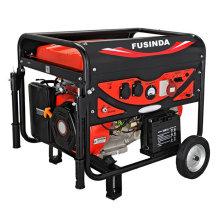 Fusinda 3кВт CE портативный Бензиновый/дизельный генератор для домашнего использования