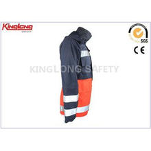 Outdoor L / XL / XXL High Visibility Winter Jackets With Bu