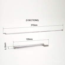 Precio de fábrica 5 secciones mástil de antena telescópica de aluminio