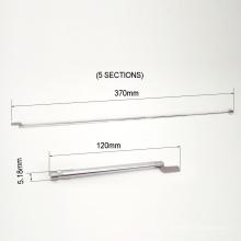 Preço de fábrica 5 seções de antena telescópica de alumínio mastro