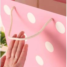 Fashion Cute 4C Printed Carton Gift Paper Bags