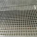 Quadratisches Loch aus perforiertem Metallgewebe aus Edelstahl