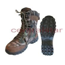 Estilo de la moda Camo con cordones Trekking Shoes (HS009)