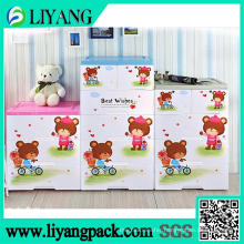 Cute Bear Design, Heat Transfer Film for Sorting Box