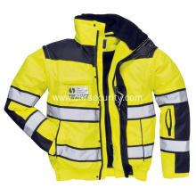 Remove the reflective safety jacket