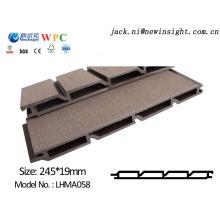 Panel compuesto plástico de madera de 245 * 20m m WPC