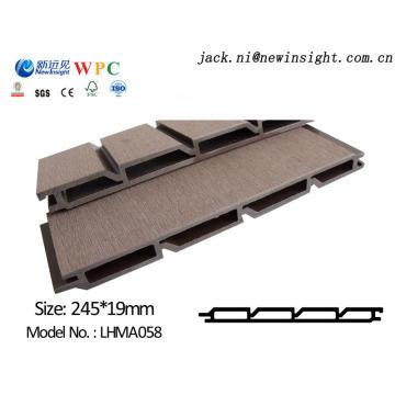 245*20мм WPC деревянная пластичная составная панель