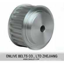 Power transmission industrial timing belt pulley for dc motor