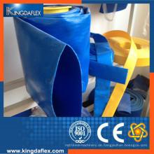 Hochdruckfaserverstärkter PVC-Flachschlauch
