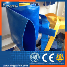 Tuyau à haute résistance en PVC renforcé à la fibre de verre