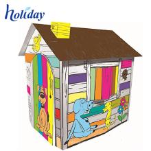 playhouse promocional de la tela de los niños del tren para los niños