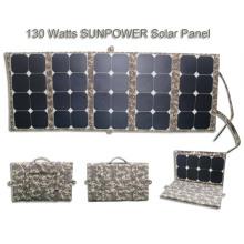 Material de silício monocristalino e painel solar dobrável de 150 * 43 * 4CM tamanho brunton explorer